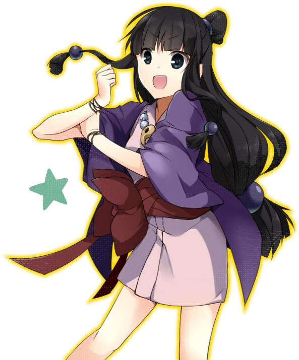Tags: Anime, Kenao, Gyakuten Saiban, Ayasato Mayoi, Maya Fey
