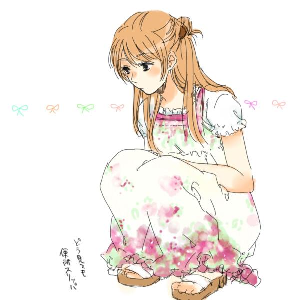 Tags: Anime, Mori Kouichirou, Chihayafuru, Ayase Chihaya, Pixiv, Fanart