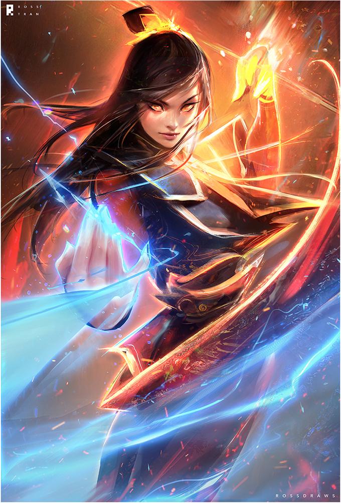 Tags: Anime, rossdraws, Avatar: The Last Airbender, Azula, deviantART, Fanart, Fanart From DeviantART