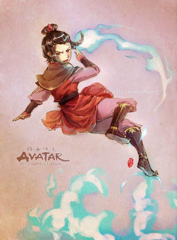 Tags: Anime, Kellylee, Avatar: The Last Airbender, Azula, deviantART, Fanart