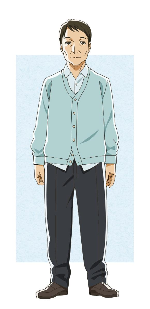 Tags: Anime, Morita Kazuaki, Feel (Studio), Tsuki ga Kirei, Azumi Ryuunosuke, Official Art, Cover Image, PNG Conversion