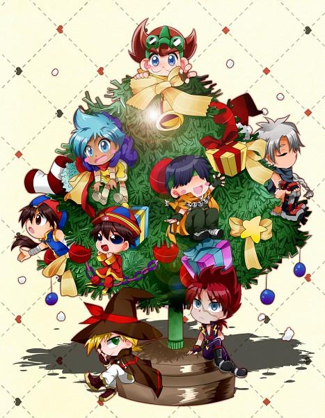 Tags: Anime, Pixiv Id 753167, B-legend! Battle B-daman, Gray Michael Vincent, Akyuras, Tsubakura Tsubame, Enju (Battle Bedaman)