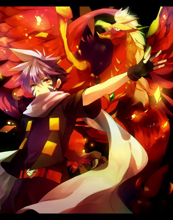 Tags: Anime, Ouri, BEYBLADE, Hiwatari Kai, Phoenix, Dranzer, Fanart