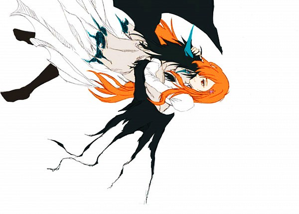 Tags: Anime, BLEACH, Ulquiorra Schiffer, Inoue Orihime, Arrancar Clothes, Espada