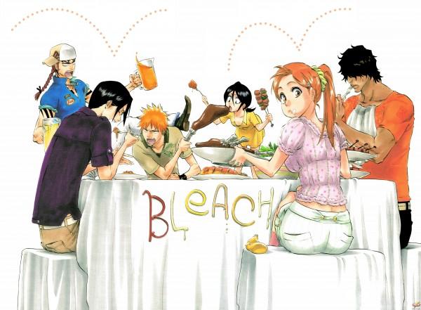 Tags: Anime, Tite Kubo, BLEACH, Kuchiki Rukia, Inoue Orihime, Abarai Renji, Kurosaki Ichigo