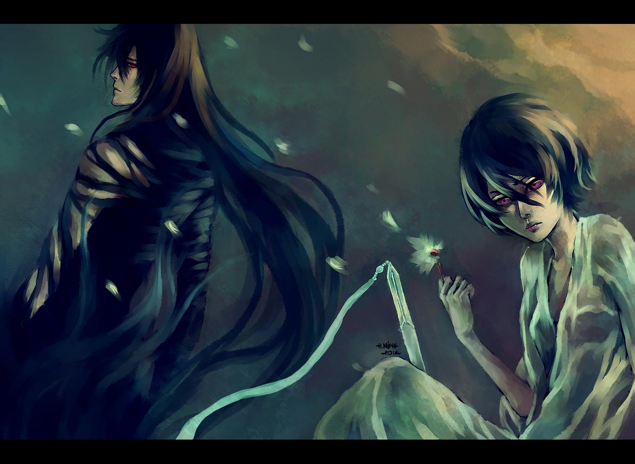 Dark rukia vs ichigo
