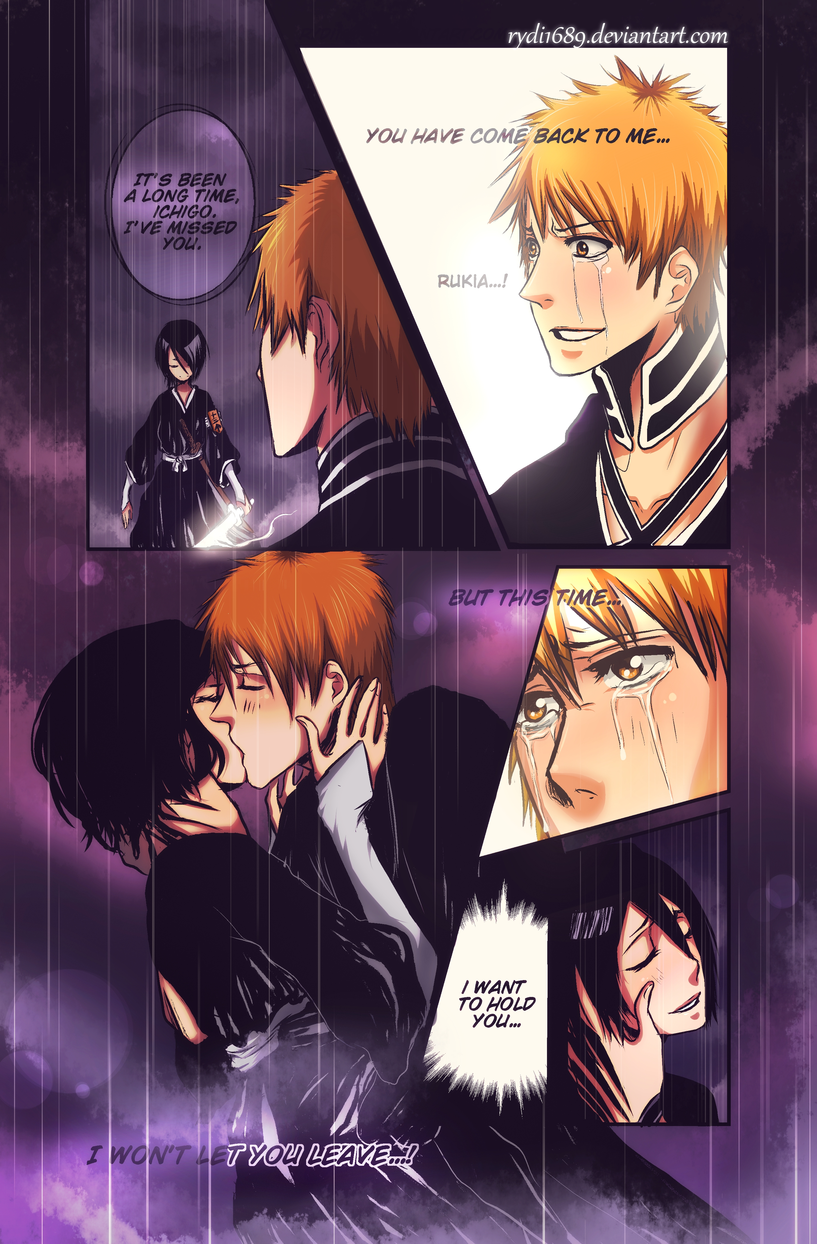 ichigo and rukia kiss - photo #31