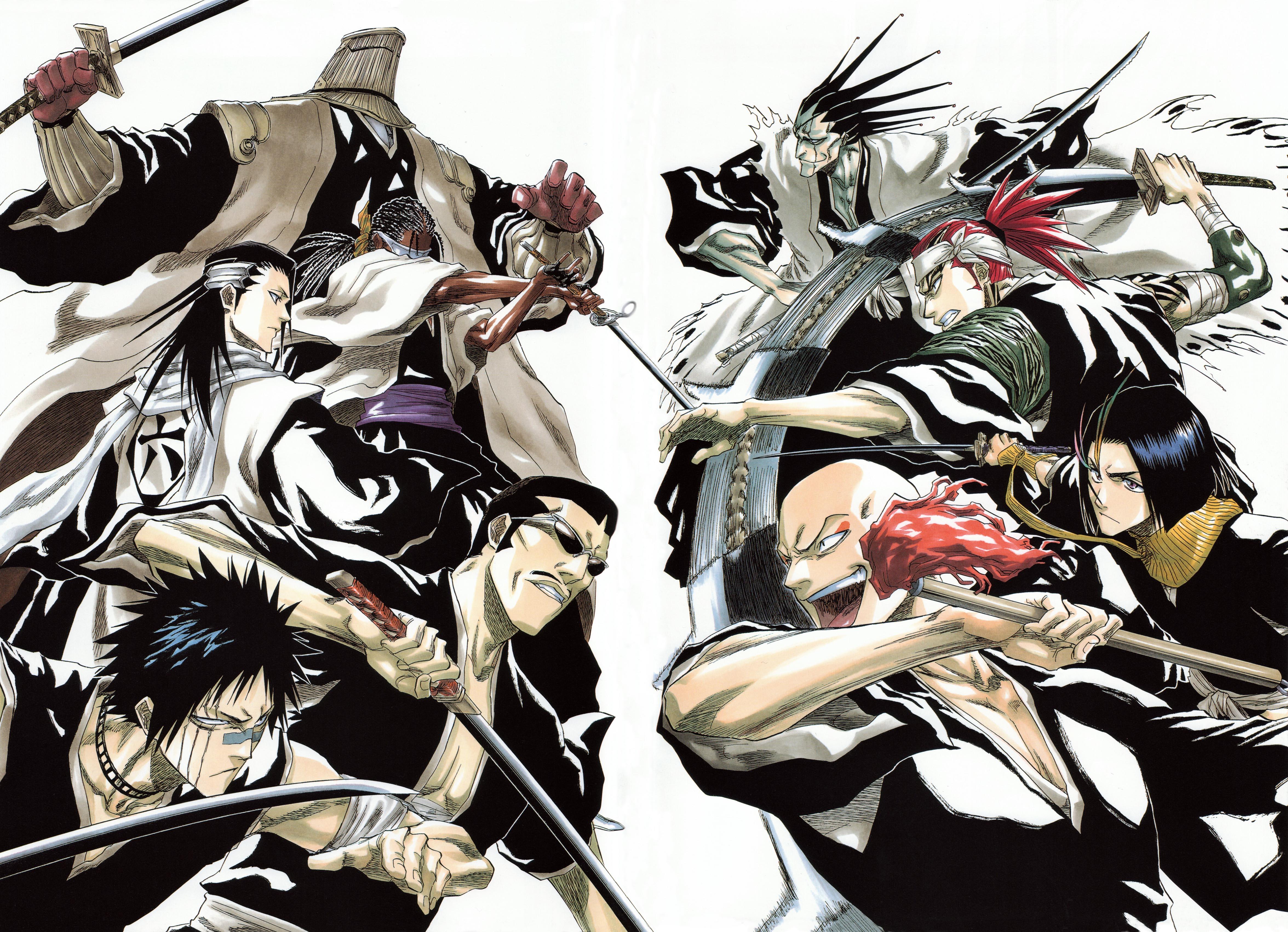 Tags Anime Tite Kubo All Colour But The Black BLEACH Zaraki