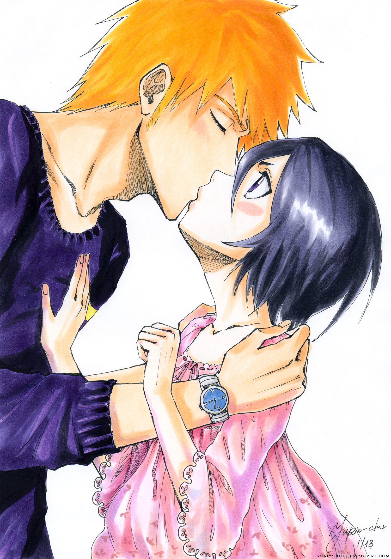 ichigo and rukia kiss - photo #19