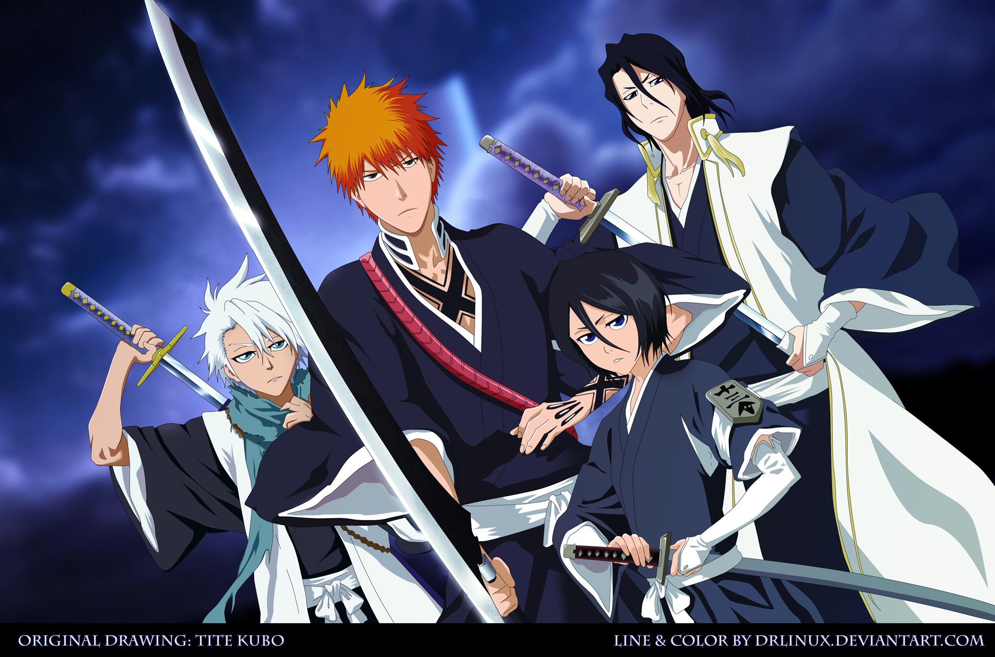 Bleach anime review by staffordshire anime planet