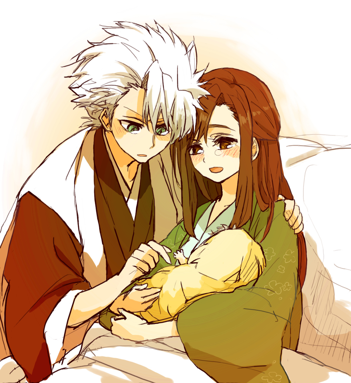 bleach momo and toshiro relationship