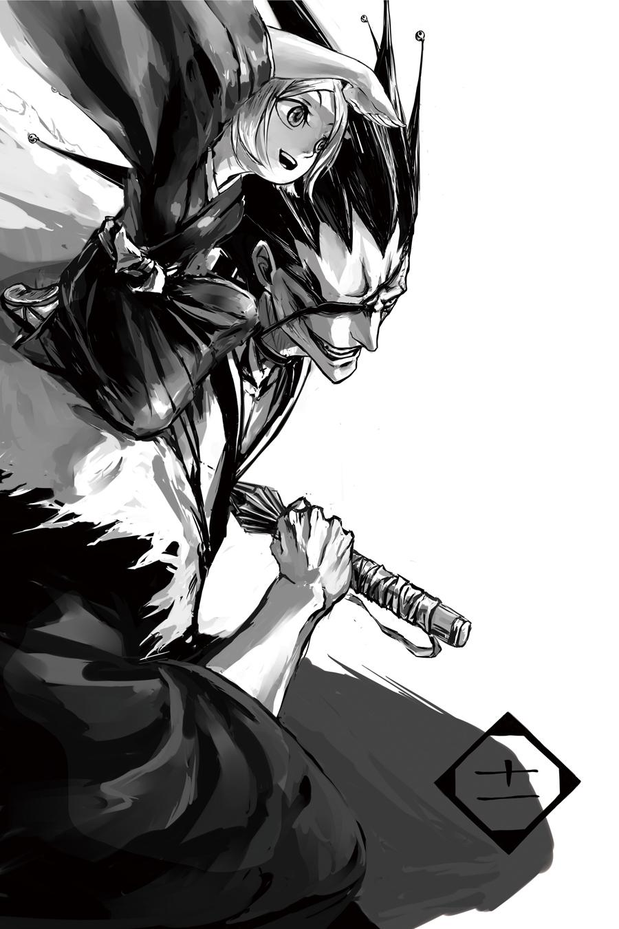 Zaraki Kenpachi Mobile Wallpaper Zerochan Anime Image Board