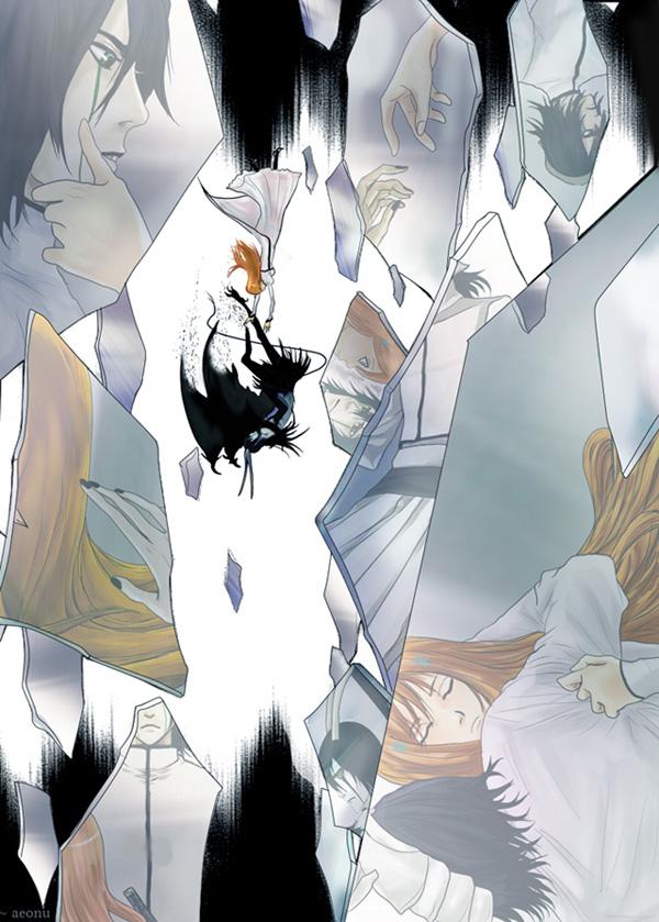 Tags: Anime, BLEACH, Ulquiorra Schiffer, Inoue Orihime, Mobile Wallpaper, Espada