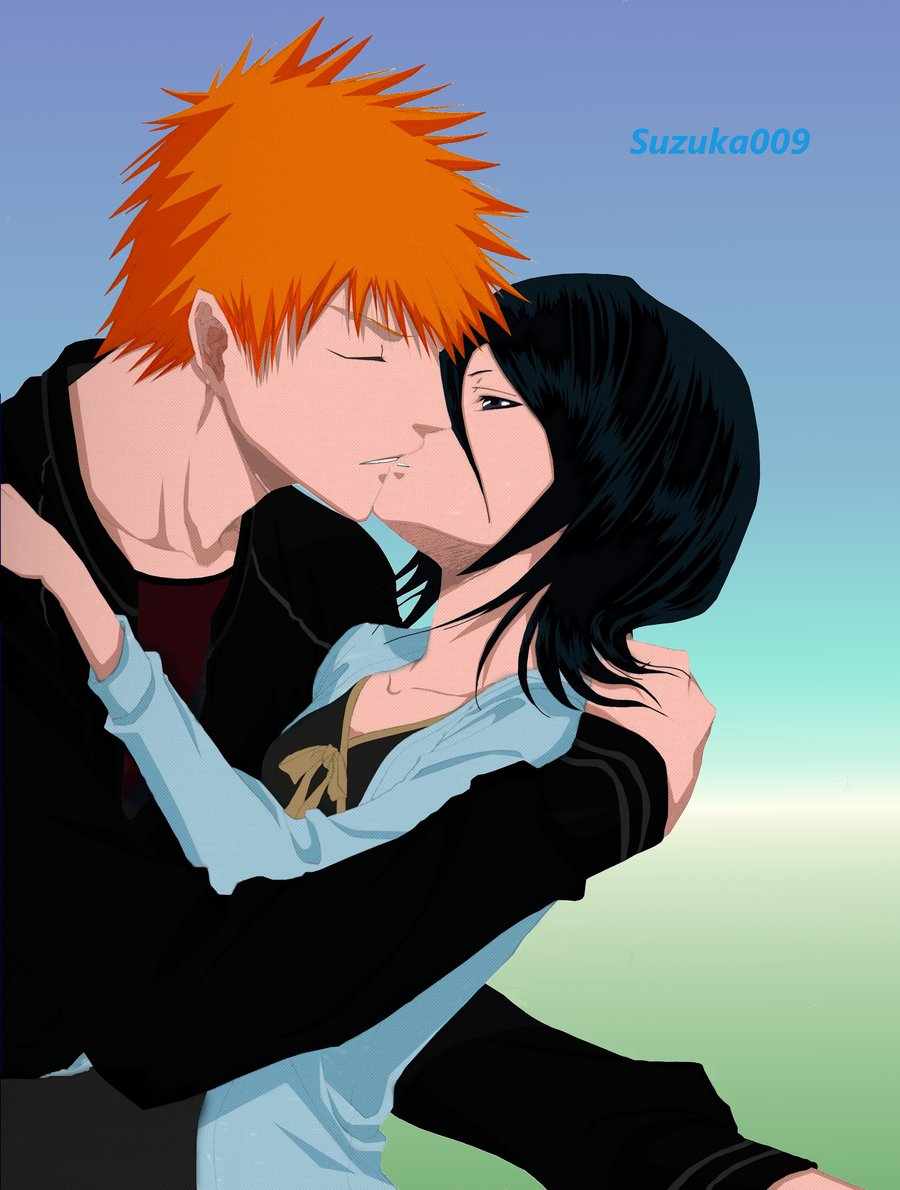 ichigo and rukia kiss - photo #24