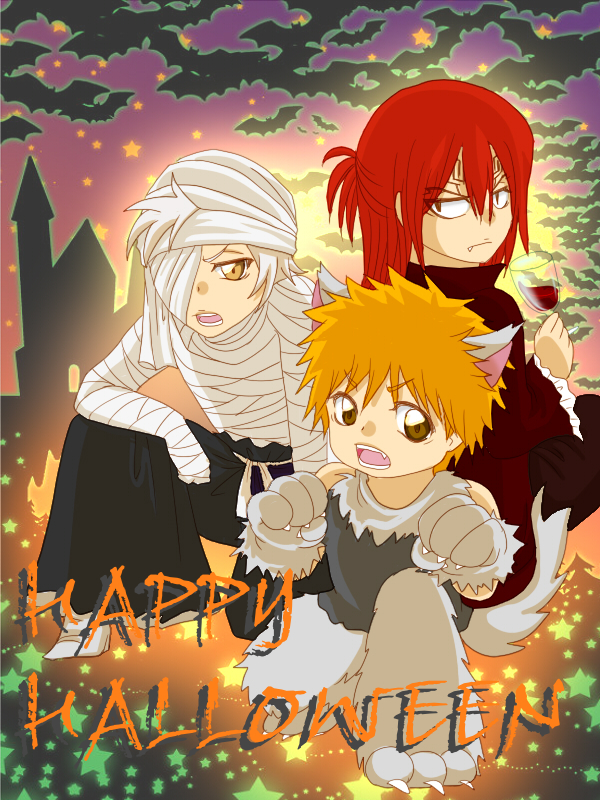 Tags: Anime, Yunapiece, BLEACH: The Hell Verse, BLEACH, Abarai Renji, Kurosaki Ichigo, Kokuto, Wallpaper
