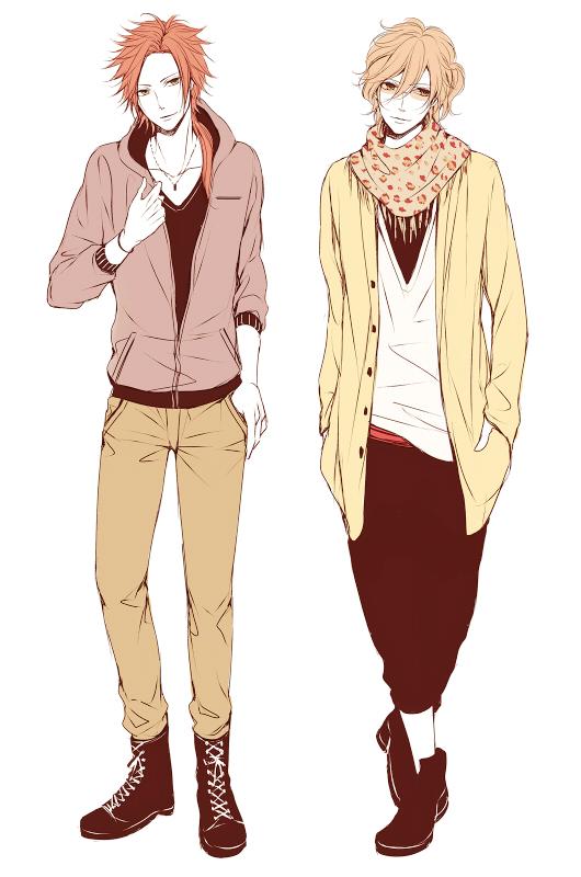 Tags: Anime, Wakatsuki Yuuki, BROTHERS CONFLICT, Asahina Futo, Asahina Yusuke, Mobile Wallpaper, Fanart From Pixiv, Pixiv, Fanart