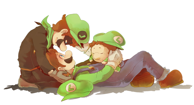 baby luigi super mario bros zerochan anime image board
