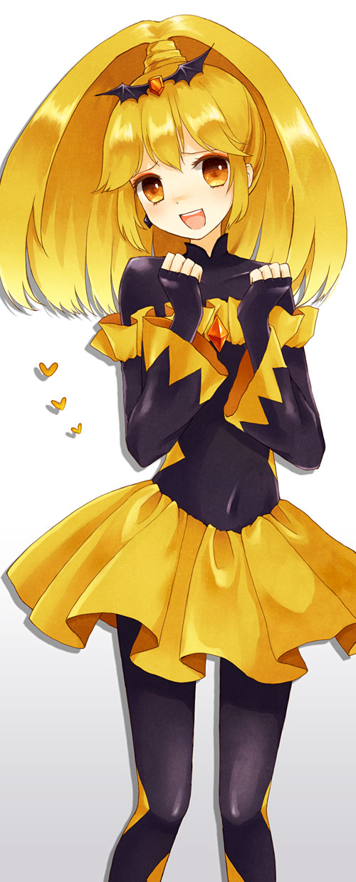 Tags: Anime, Yon (Letter), Smile Precure!, Bad End Peace, Yellow Gem, Pixiv, Fanart, Fanart From Pixiv