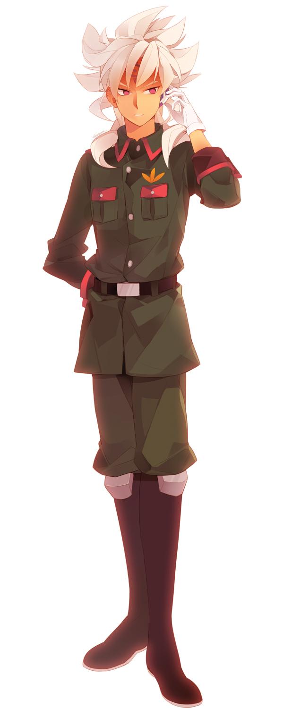 Tags: Anime, Gene (Pixiv571918), Inazuma Eleven, Badarp Slead, Fanart From Pixiv, Pixiv, Fanart, Team Ogre