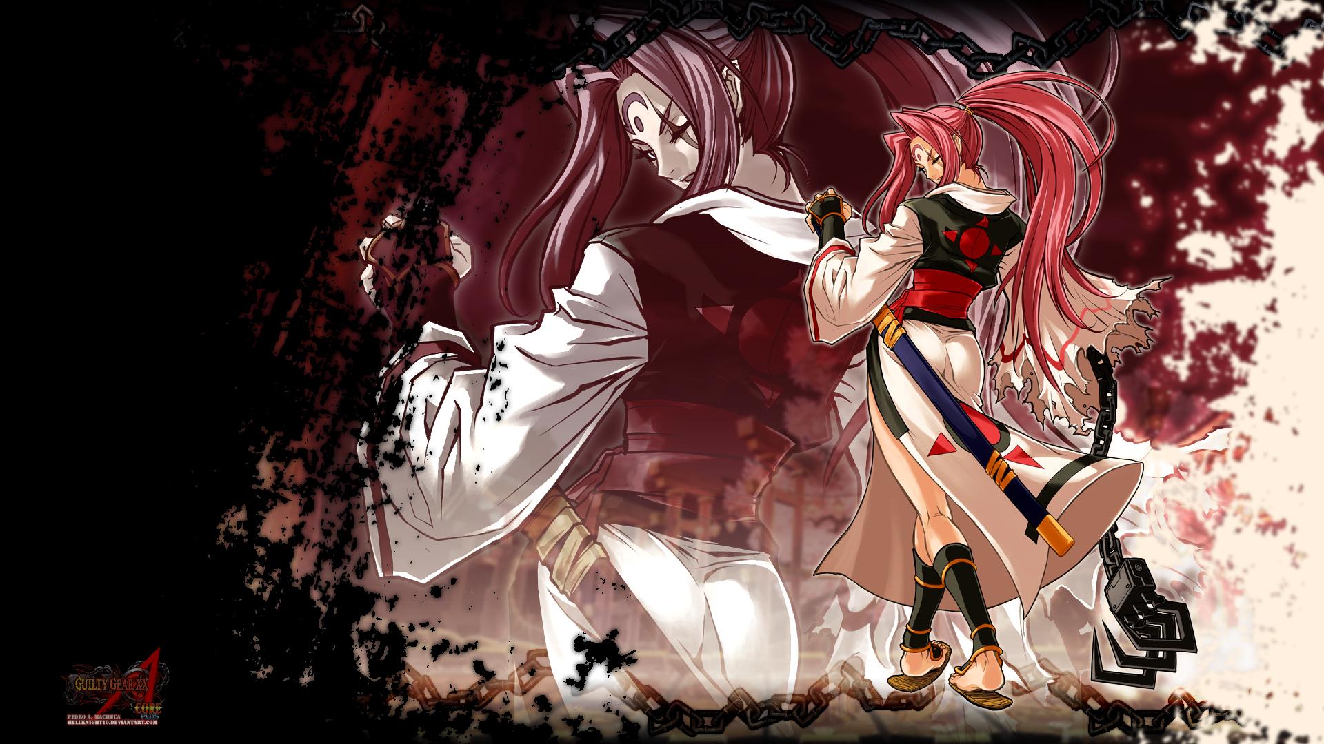 Baiken Wallpaper Zerochan Anime...