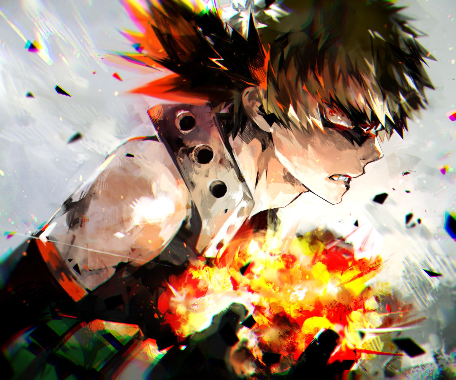 Bakugou Katsuki Fanart Zerochan Anime Image Board