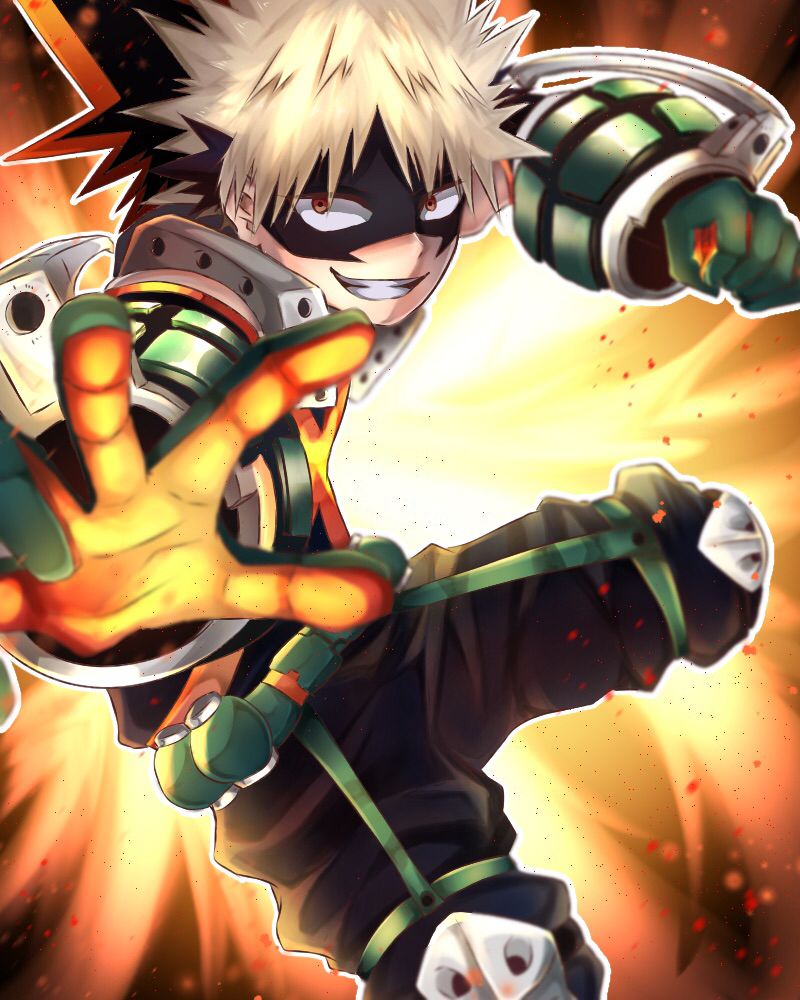 Bakugou Katsuki Boku No Hero Academia Wallpaper 2814382