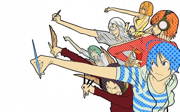 Tags: Anime, Obata Takeshi, Bakuman。, Niizuma Eiji, Aoki Yuriko, Takagi Akito, Hiramaru Kazuya