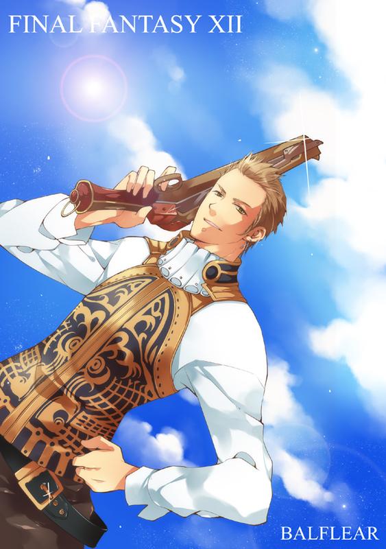 Tags: Anime, SQUARE ENIX, Final Fantasy XII, Balthier, Fanart, Pixiv