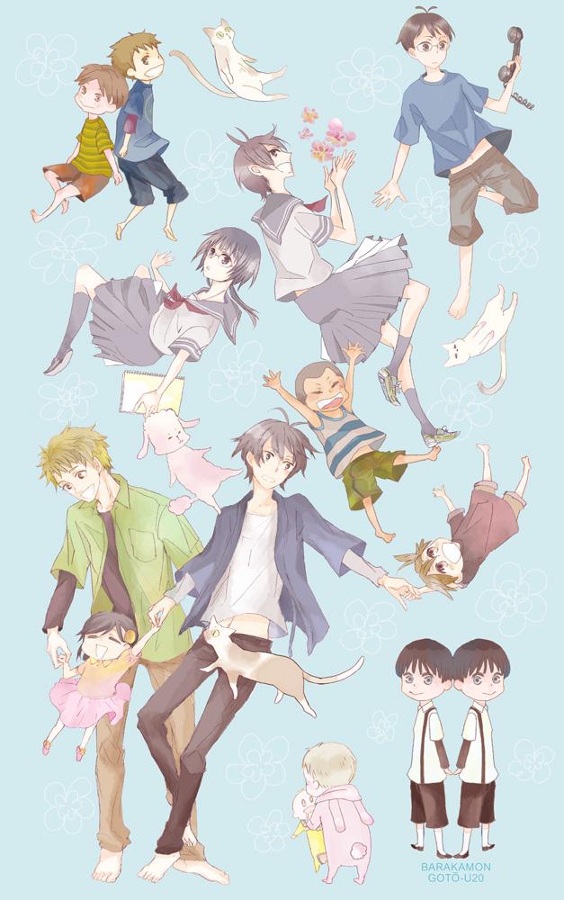 Tags: Anime, Pixiv Id 141775, Barakamon, Daisuke (Barakamon), Kubota Hina, Handa Seishuu, Yutaka (Barakamon), Arai Tamako, Arai Akihiko, Kido Hiroshi, Oohama Kentarou, Kotoishi Naru, Yamamura Miwa