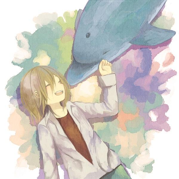 Tags: Anime, Hikari (jellyfish), Katekyo Hitman REBORN!, Basilicum, Dolphin, Fanart, Pixiv