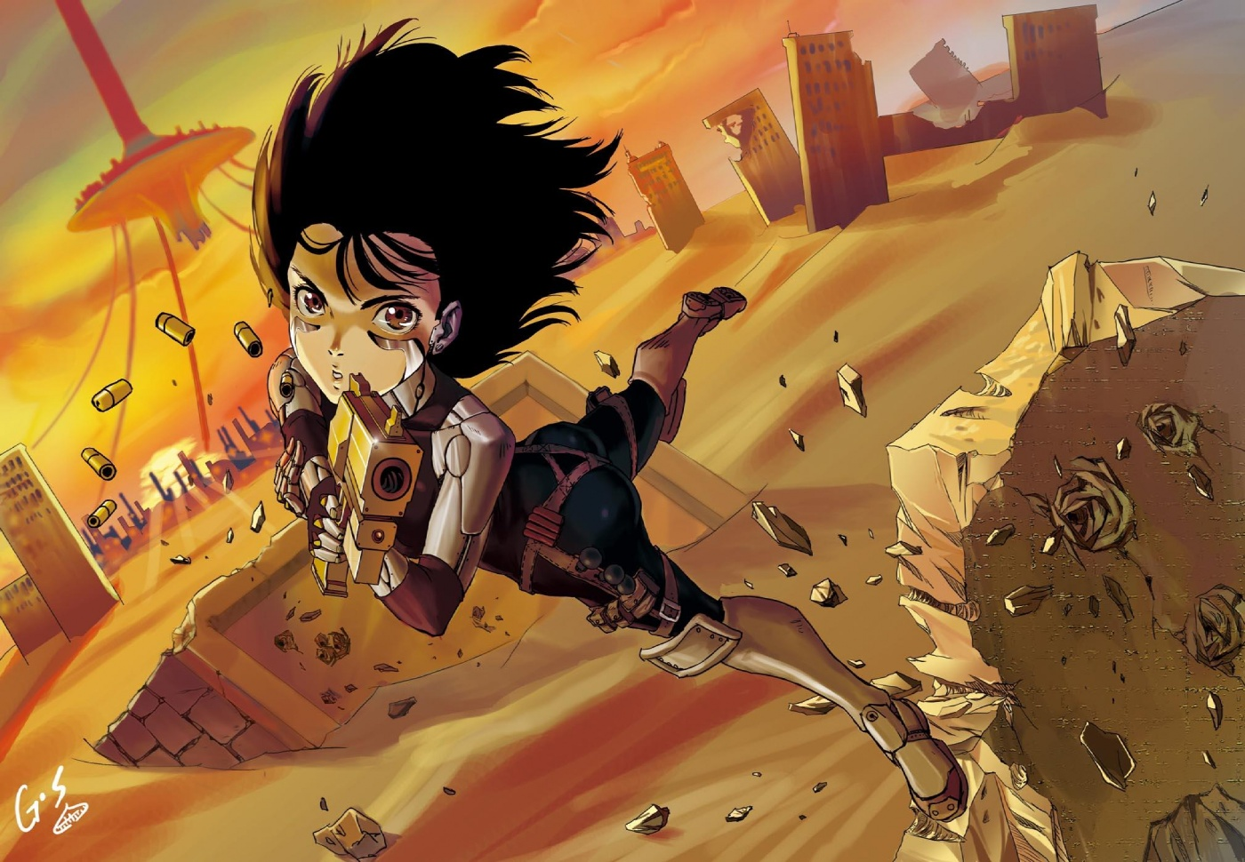 Battle Angel Alita Wallpaper 262897  Zerochan Anime Image Board