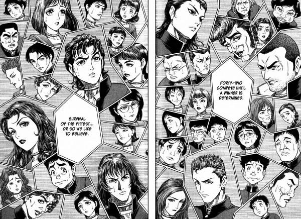 Tags: Anime, Taguchi Masayuki, Battle Royale, Tsukioka Shu, Ogawa Sakura, Kawada Shougo, Nakagawa Yuka