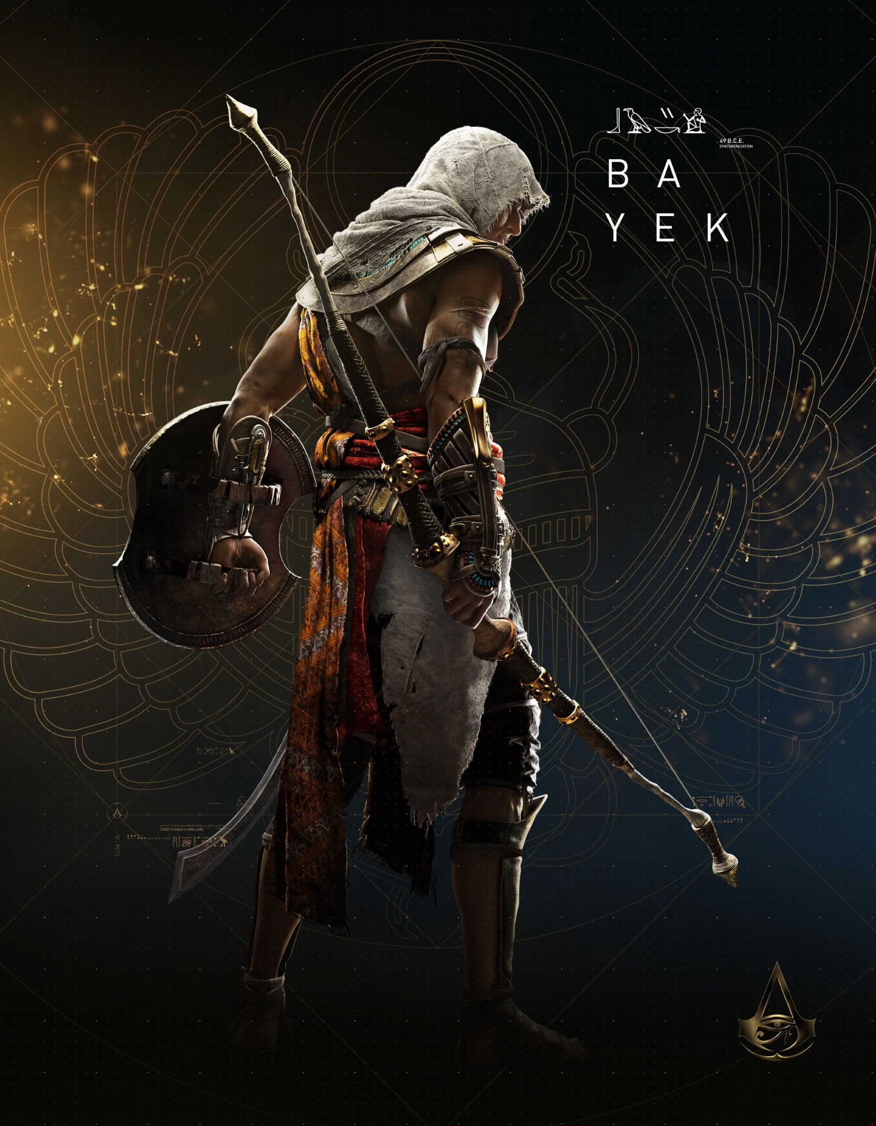 Bayek Of Siwa Assassin S Creed Origins Mobile Wallpaper
