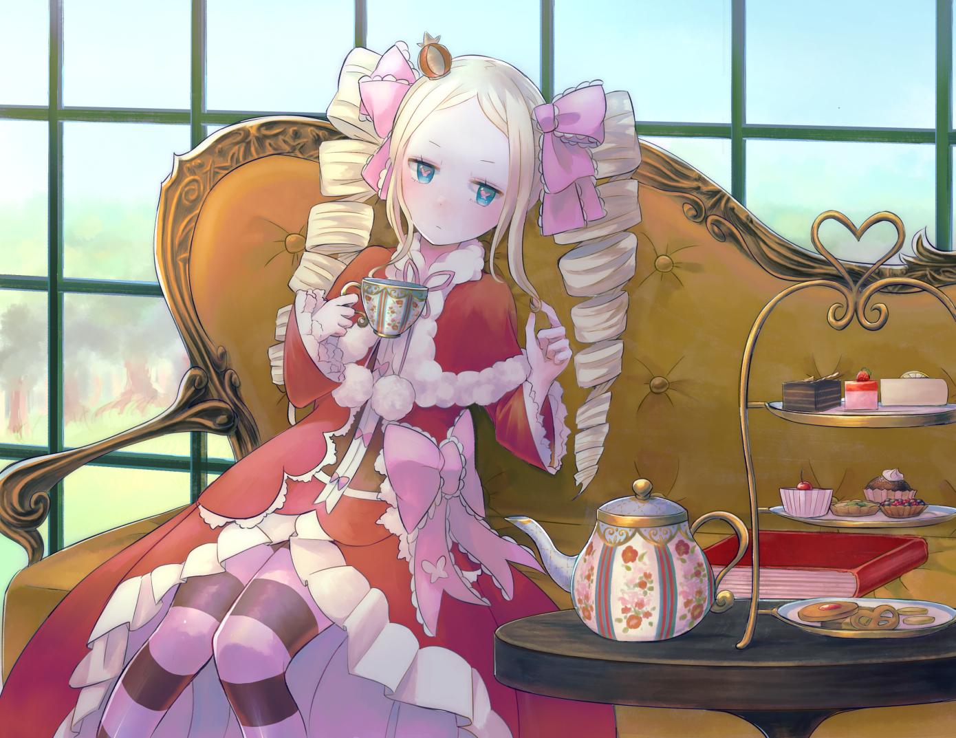 Yellow-haired anime character, Beatrice (Re: Zero