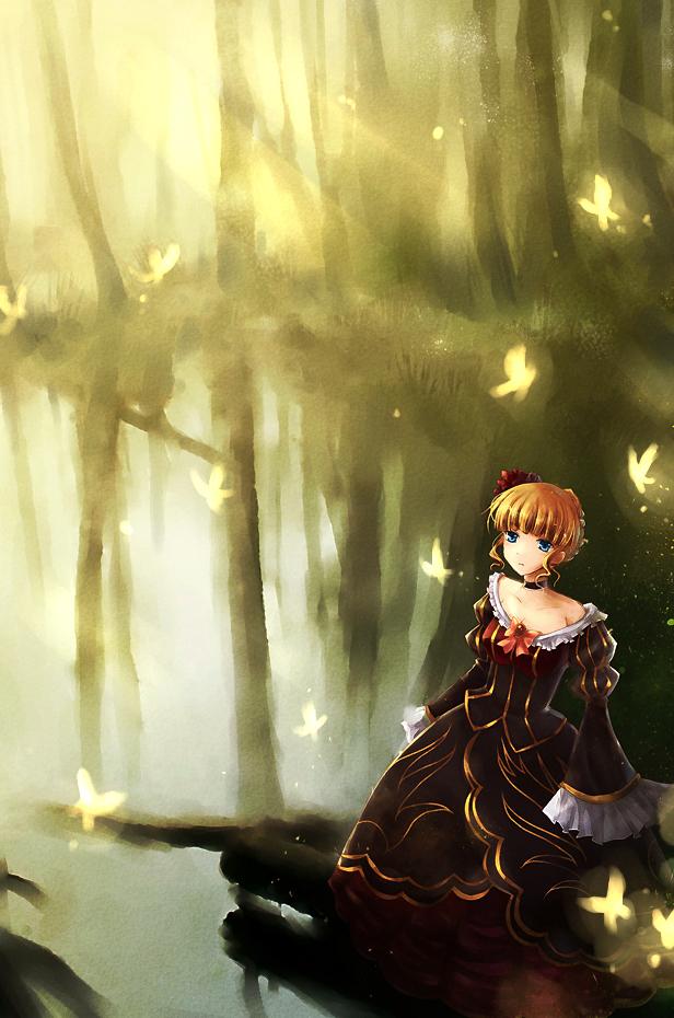 Tags: Anime, 07th Expansion, Umineko no Naku Koro ni, Beatrice, Fanart