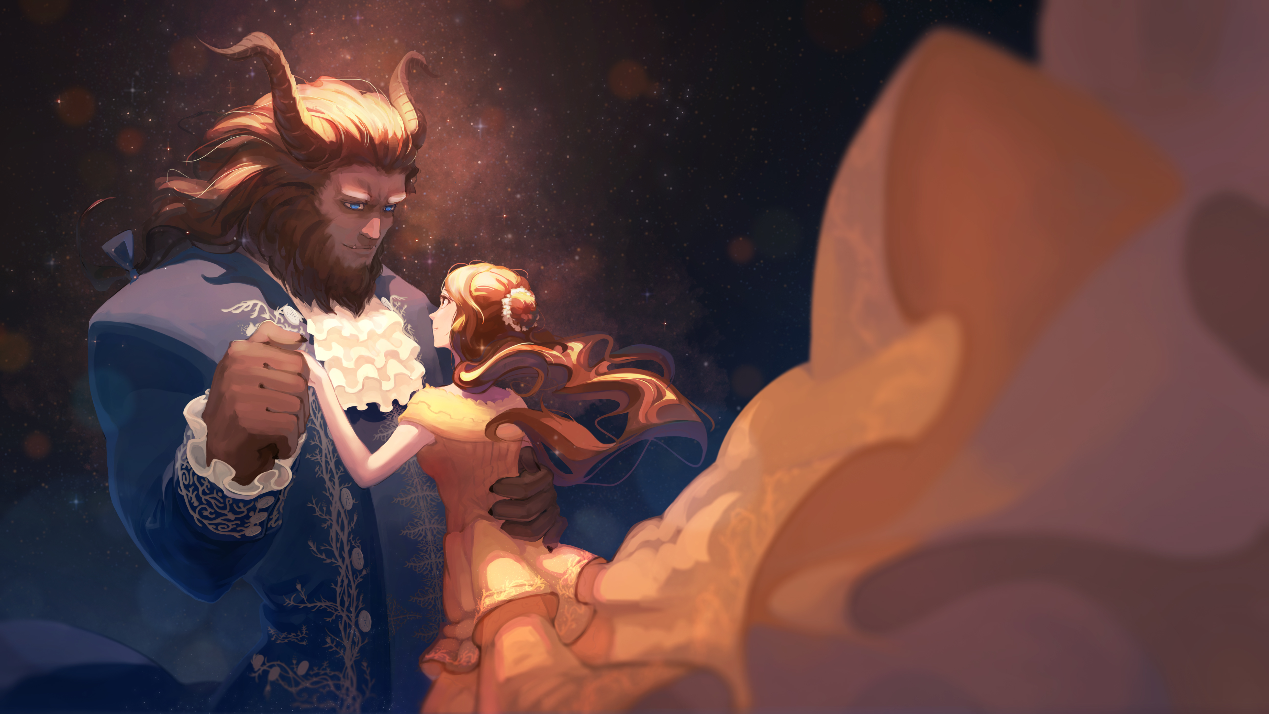 Beauty And The Beast Disney Wallpaper 2104063 Zerochan Anime