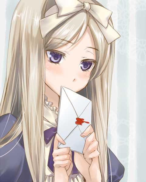 Tags: Anime, Mikippa, Axis Powers: Hetalia, Belarus, Love Letter, Pixiv, Fanart From Pixiv, Fanart, Soviet Union