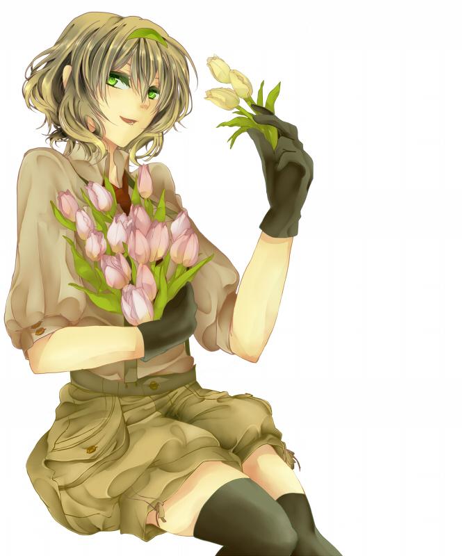 Tags: Anime, Pixiv Id 4522304, Axis Powers: Hetalia, Belgium, Tulip, Fanart From Pixiv, Fanart, Pixiv