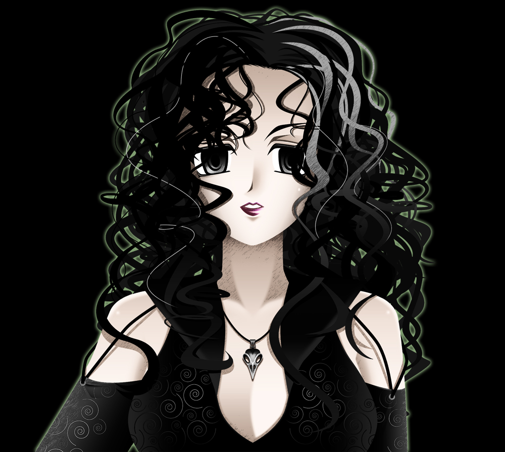 Bellatrix and hermione anime