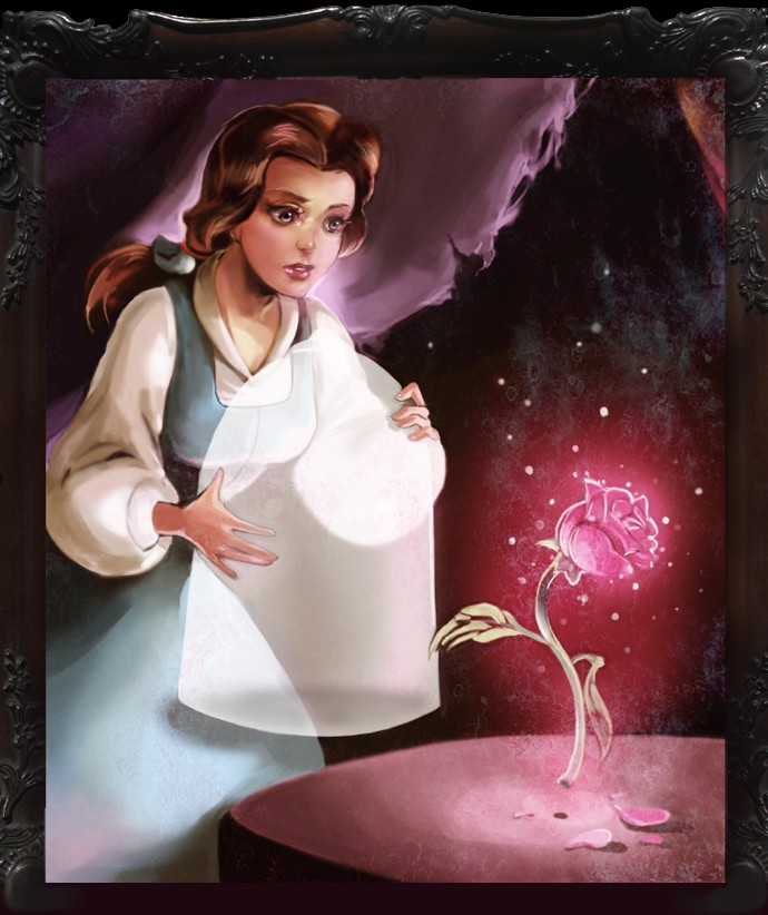 Belle Beauty and the Beast Fanart  Zerochan Anime Image Board