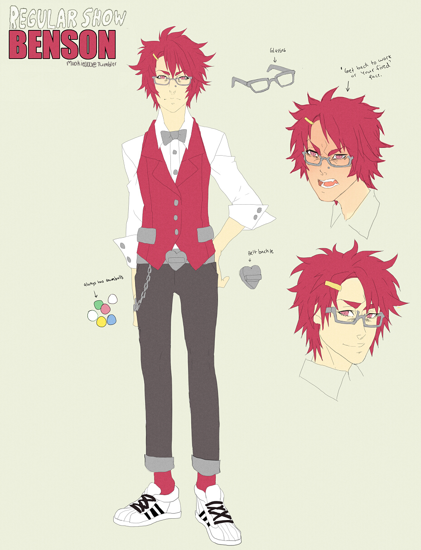Benson Regular Show Zerochan Anime Image Board