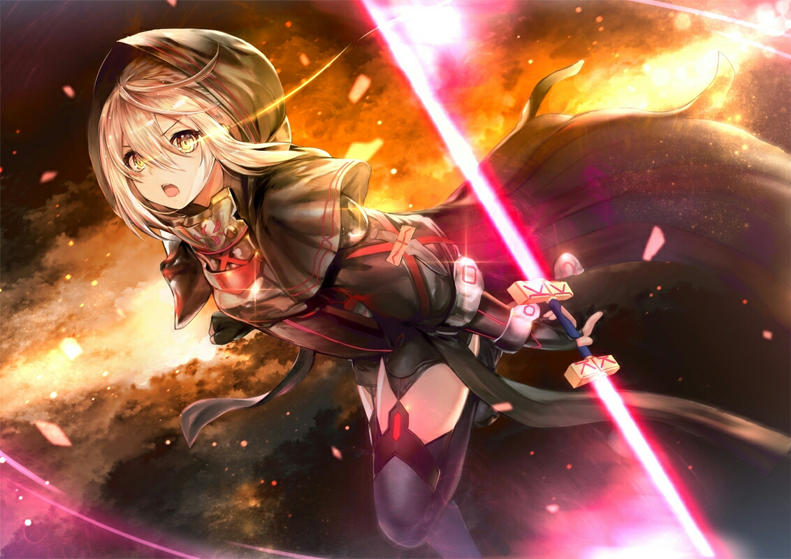fate mysterious heroine x alter