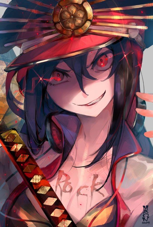 Berserker Oda Nobunaga Majin Archer Zerochan Anime