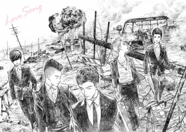 Tags: Anime, Sunu-ku, Seungri, G-dragon, Daesung, Taeyang, T.O.P