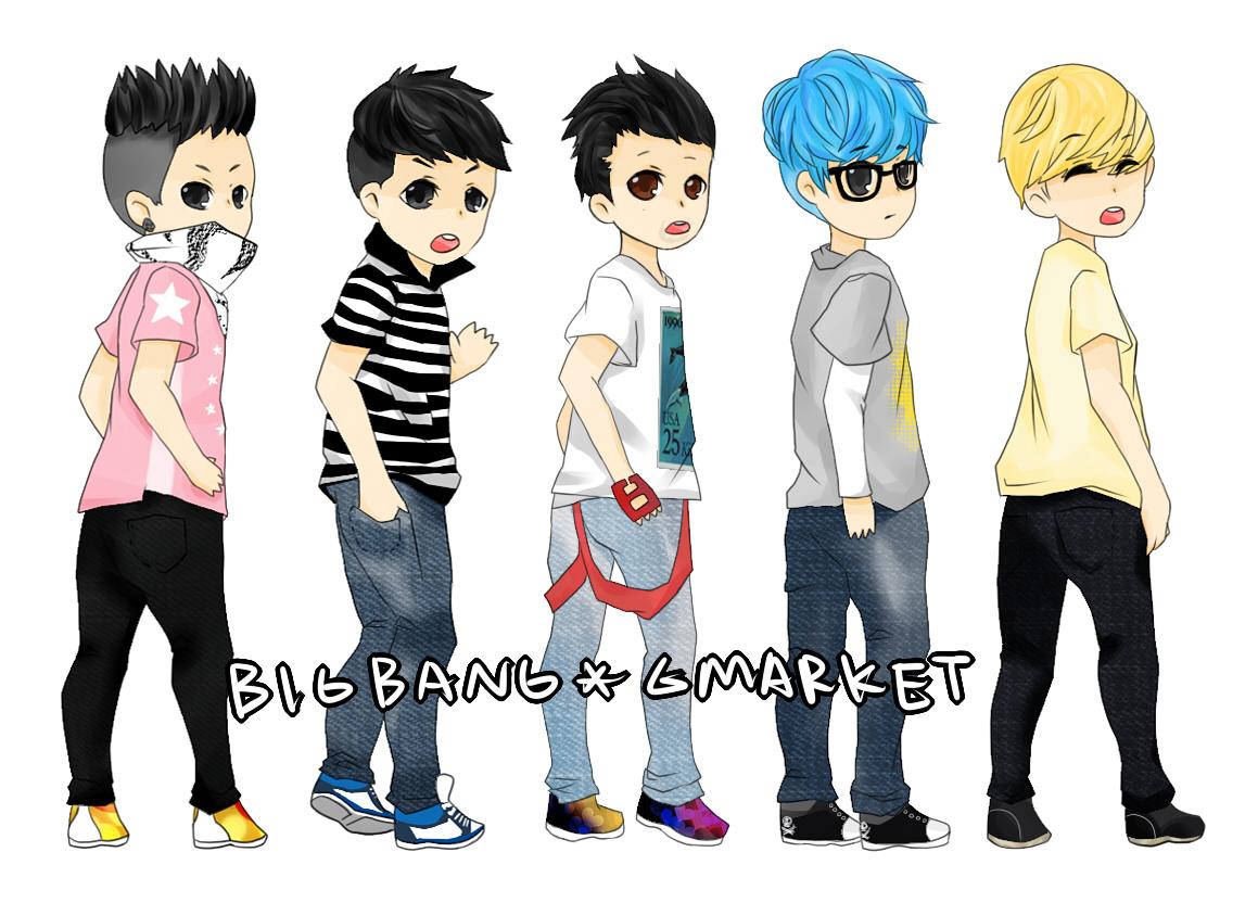 Images Of Cartoon Korean Bing Bang