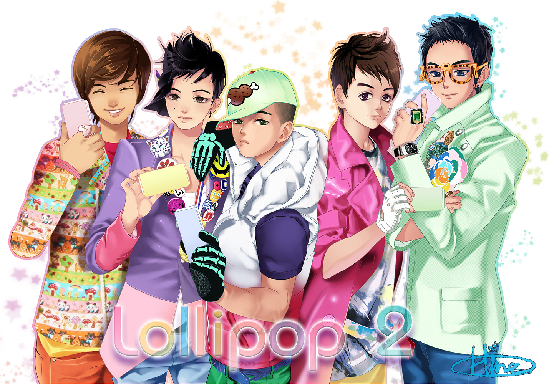 Big O Anime Characters : Big bang k pop image  zerochan anime board