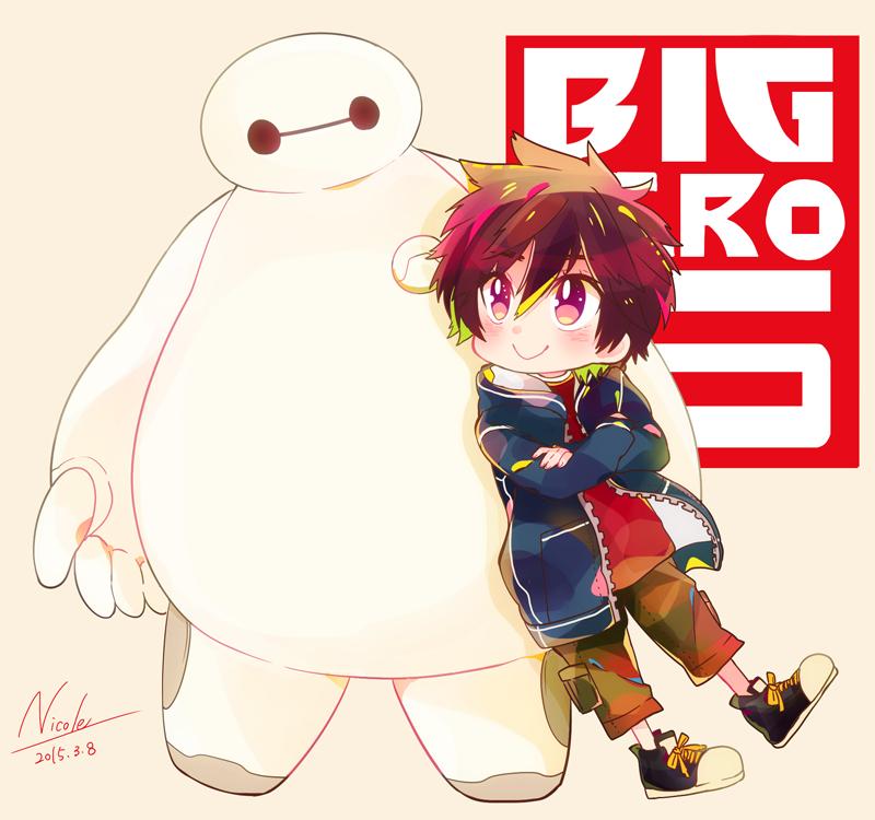 Big Hero 6 Anime Characters : Big hero image zerochan anime board