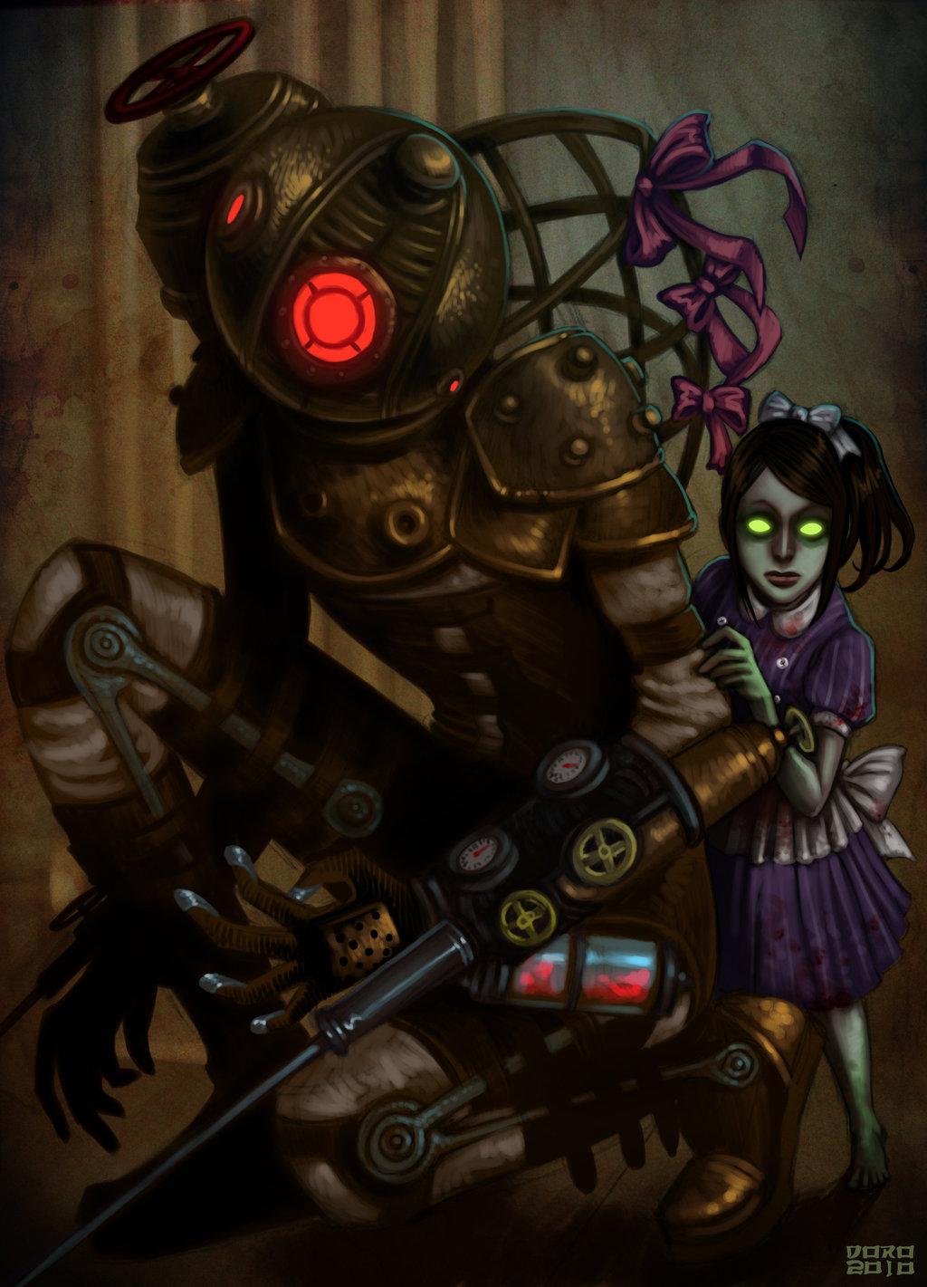 Tags Anime BioShock Little Sister Big Bioshock Mobile