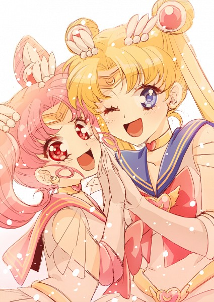 Tags: Anime, Usaki, Bishoujo Senshi Sailor Moon, Chibiusa, Tsukino Usagi, Sailor Moon (Character), Sailor Chibi Moon