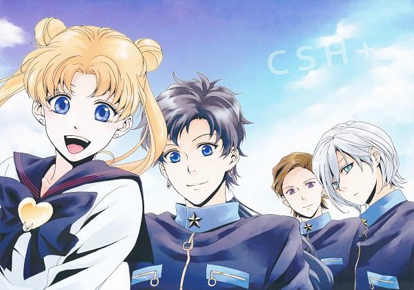 Tags: Anime, Violetcoral, Bishoujo Senshi Sailor Moon, Seiya Kou, Tsukino Usagi, Yaten Kou, Taiki Kou